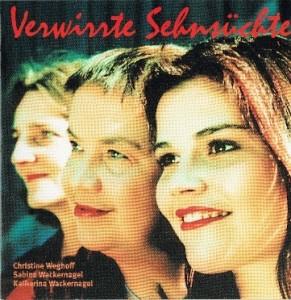 CD-Cover Verwirrte Sehnsüchte